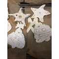 Our Salt Dough Christmas Decorations