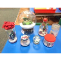 Our snow globe Art competition