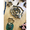 We learnt about the different parts of a castle