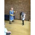 We had sword fights!
