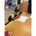 Bubble painting butterflies