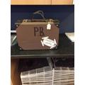 Paddington's suitcase by Curtis
