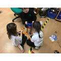 We love building the marble run.