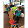 Our class toy shop.