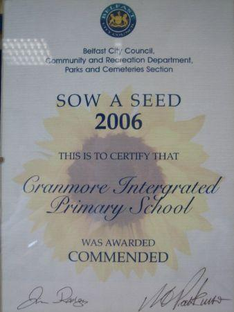 Sow a Seed Award