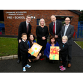 Opening the new purpose built pre-school