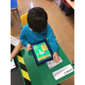 Learning on the ipads.