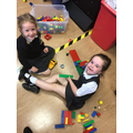 We love building with the lego.