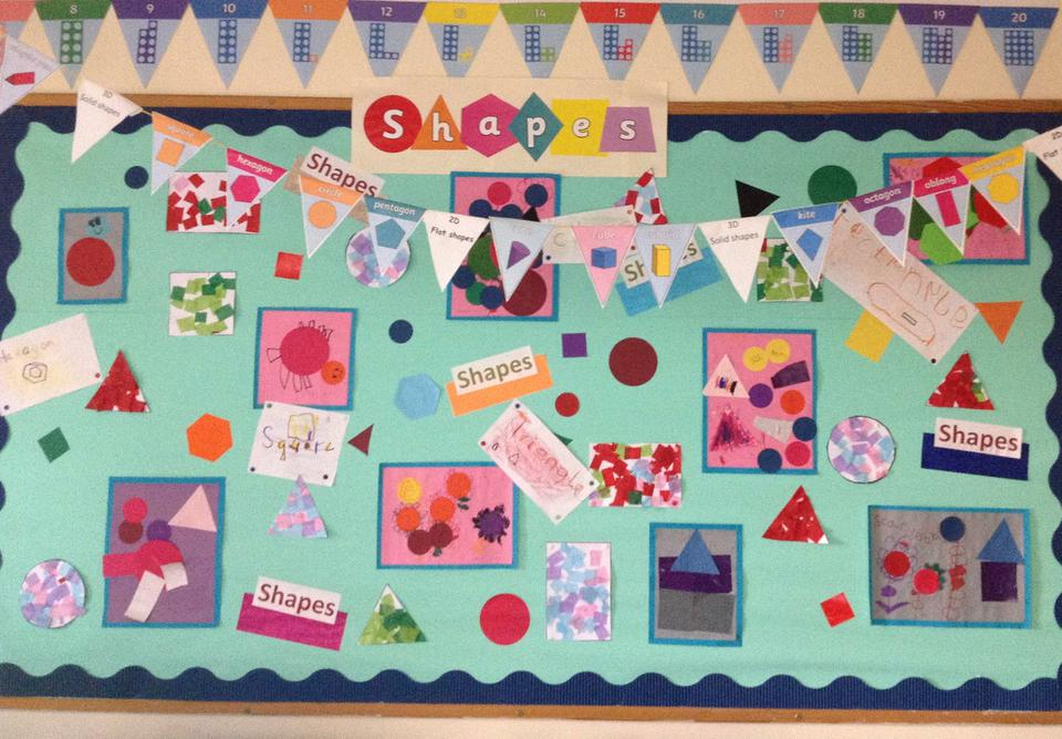 Square class has been learning about Shapes