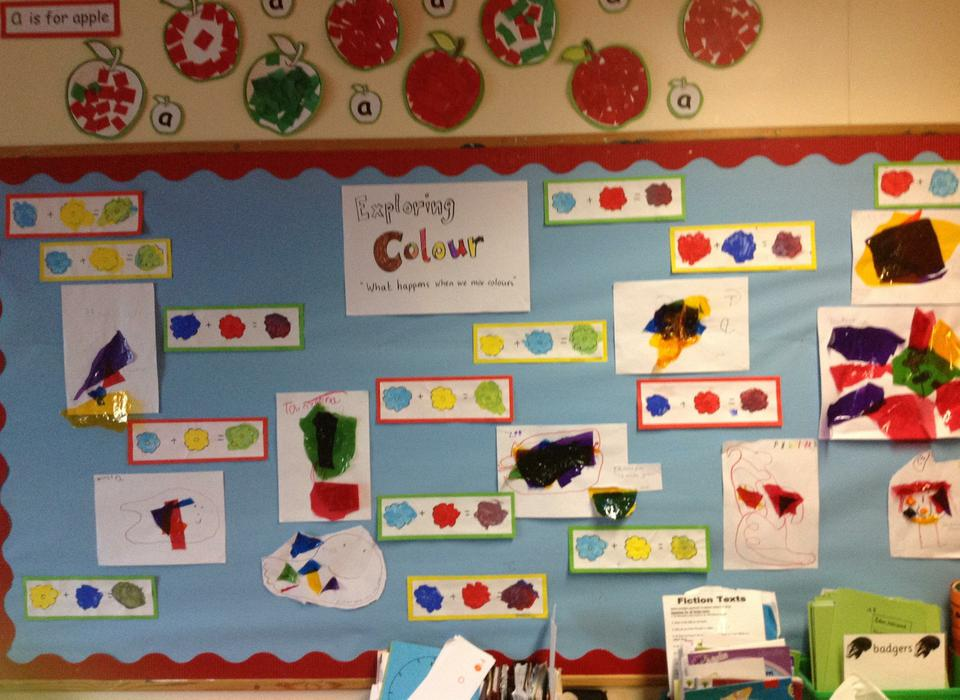 Circle class has been investigating colours