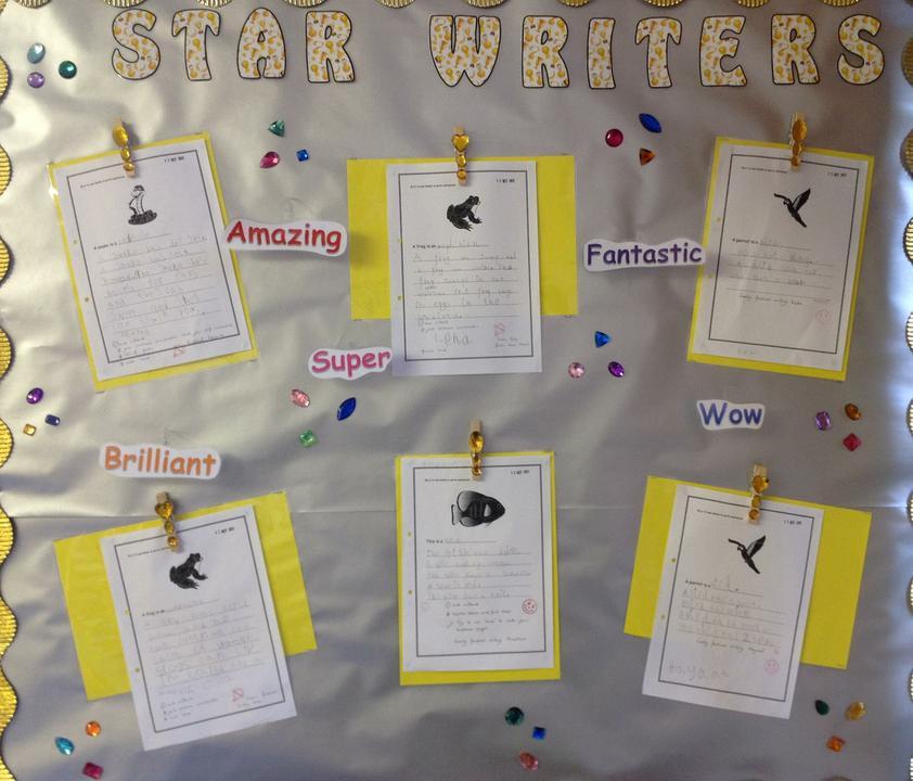 Yellow class star writiers