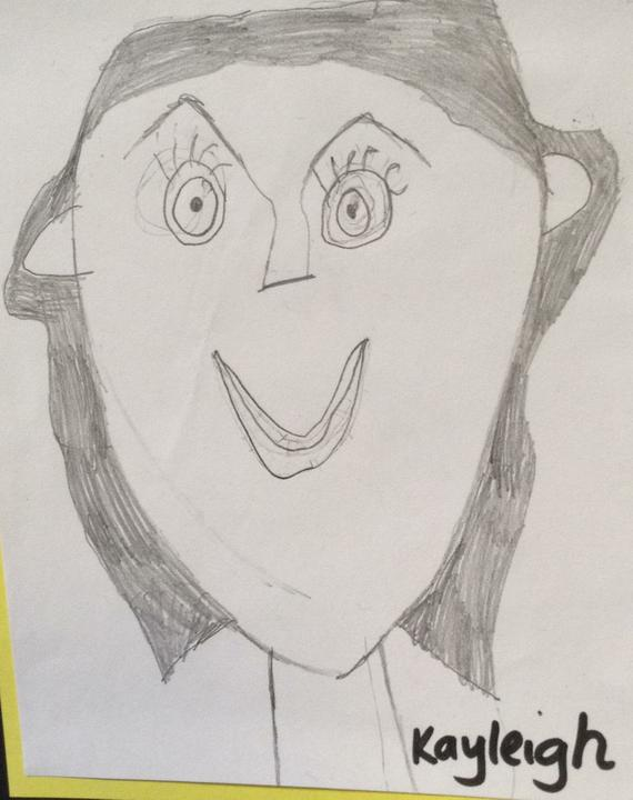 Year 2 self portraits