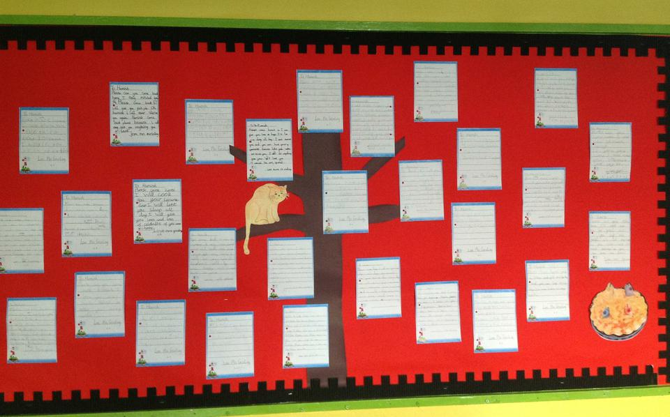 Year 2 letters to Hamish the cat.