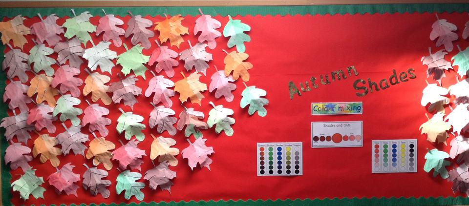 Year 1 have been colour mixing