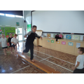 Jumping, balancing, rolling and travelling.