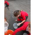 Measuring with fluids