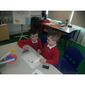 Number work with numicon