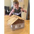 Chris's Anglo Saxon house