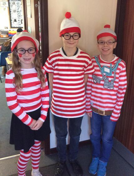 Where's Wally, Olly and Wenda