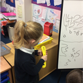 Recognising and writing numbers