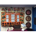KS2 display on Ancient Greece