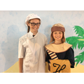 Amber and Sam - The Baker and Butler, cast B