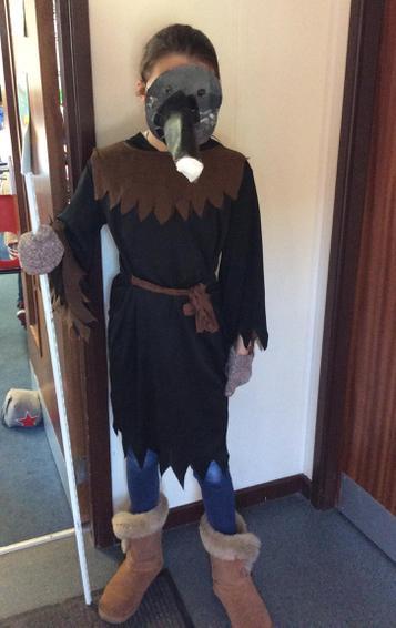 The Plague Doctor - Winner of Best Costume