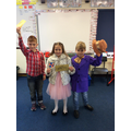 Charlie, Veruca and Willie Wonka, Columbus Class