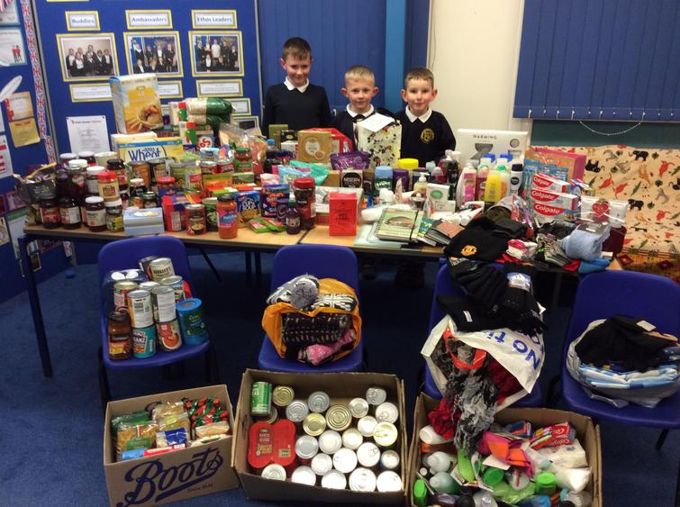 Items our families GAVE at advent this year