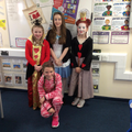 Tilly, Lauren,Iona and Erin.