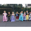 Fancy dress parade
