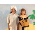 Issy and Stan - The Baker and Butler, cast B