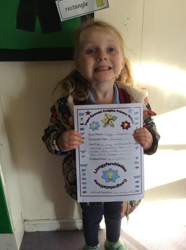 Pupil of the week - 06/11/2020