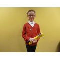 Well done Brooke! Yellow belt in Karate!