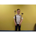 Joshua has been doing very well in dance comps!