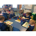 Year 1 doing individual reading