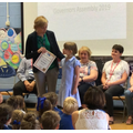Award by Ellesmere Library for great reading