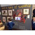 The exhibits at the Nursery rhyme exhibition.
