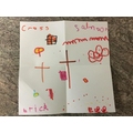 Billy is thankful for the Cross, salmon, bricks and eggs