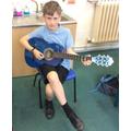 Ashton provided musical accompaniment.