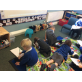 Reception phonics session