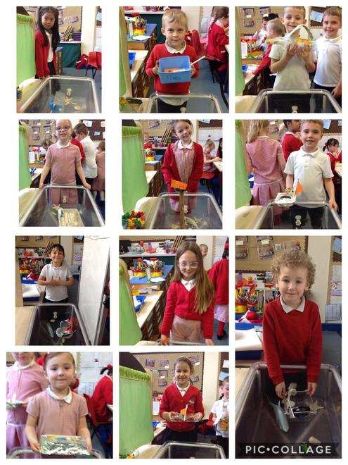 We designed and made our own boats for the GB sailing team!