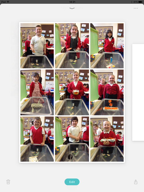 We all tested our boats to make sure they could carry 2 people without sinking.