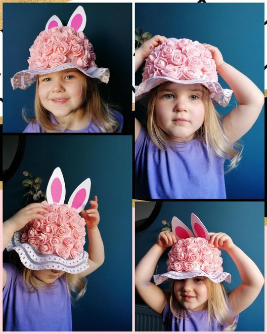 Fantastic flowers - winner of an Easter egg
