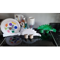 Louie's 3D junk modelling creations!