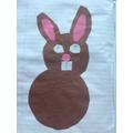 Chloe's Easter bunny!