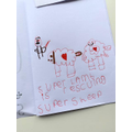 Erika's beautiful writing!