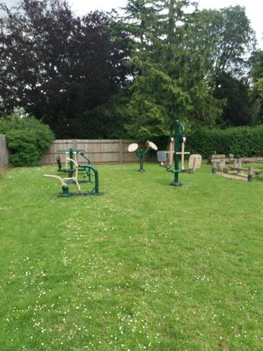 Outdoor Gym Equipment Funded by PA