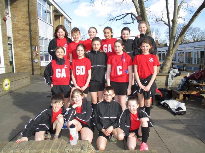 Netball High Five team