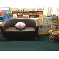 Reading Area sofa